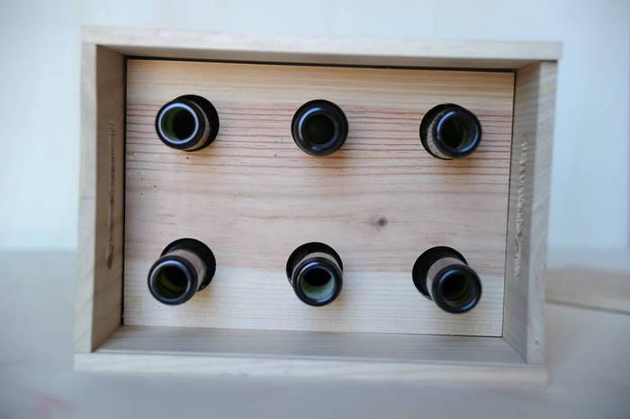 Interior caja